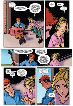 Betty Gives Archie Advice Regarding Veronica