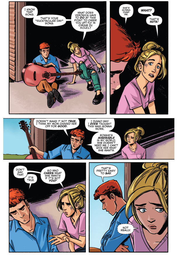 Betty Gives Archie Advice Regarding Veronica