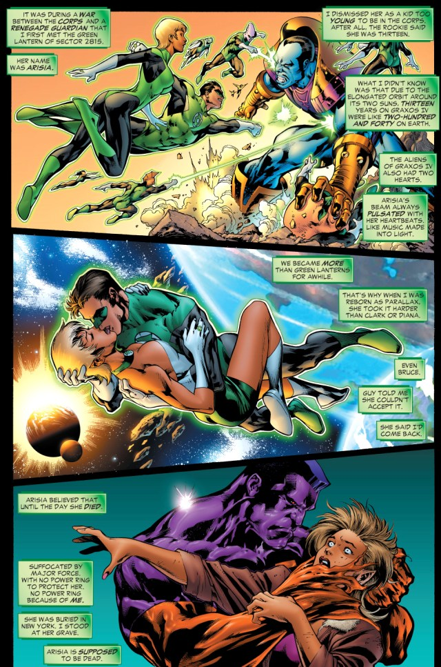 How Green Lantern Arisia Survived Death