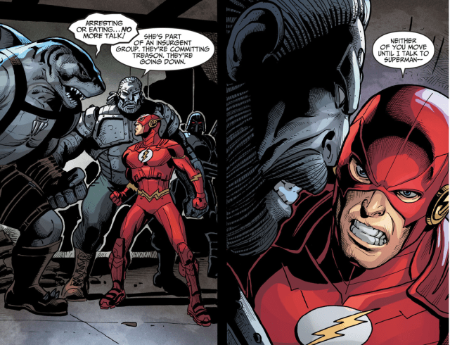 The Flash Kills King Shark (Injustice Gods Among Us)