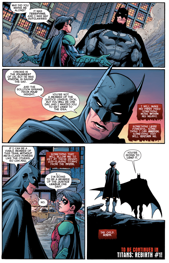 Why Batman Wants Robin To Meet The Justice League (New 52)