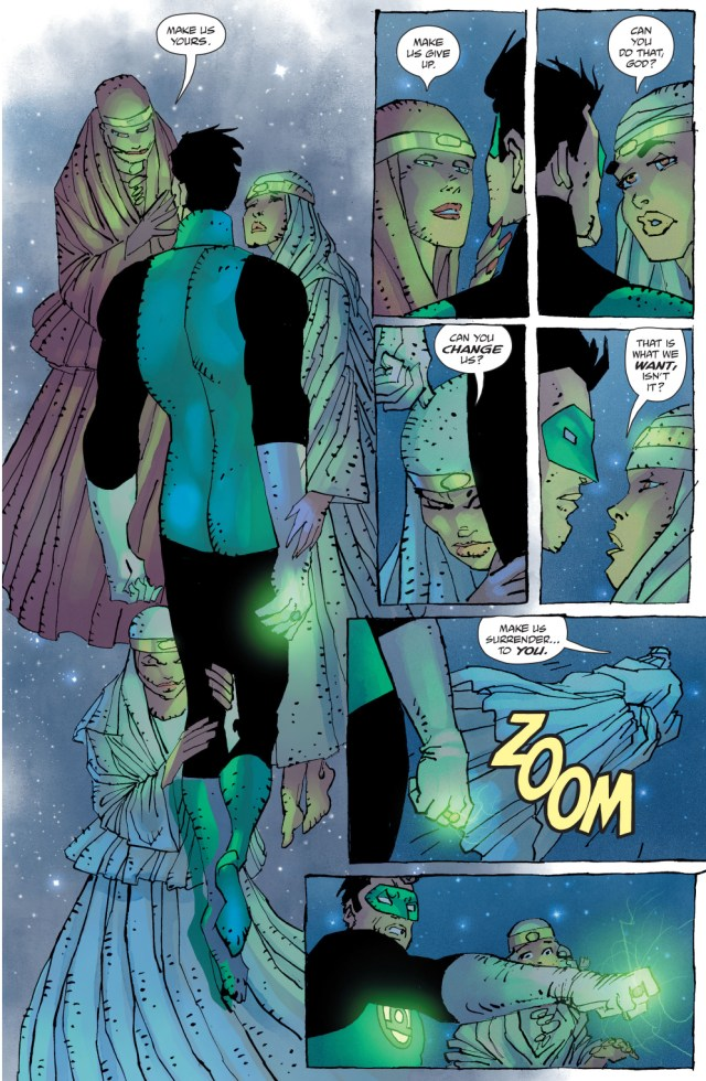 quar's wives takes down green lantern (the master race)