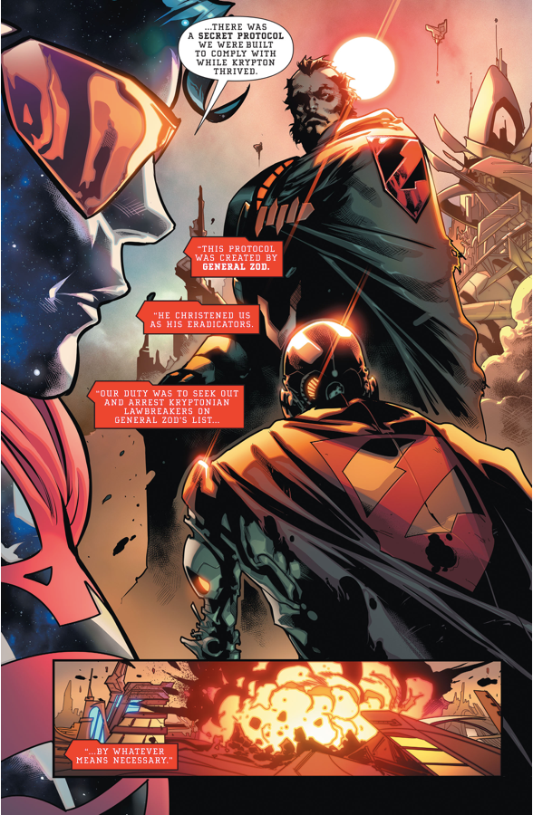The Eradicator Explains His Mission (Rebirth)