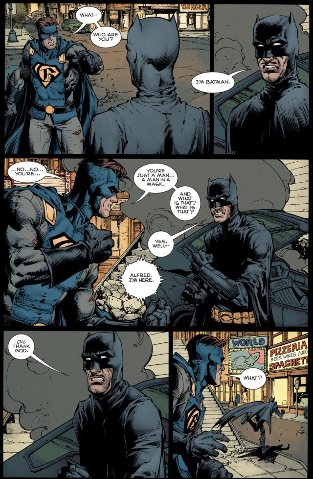 alfred pennyworth as batman