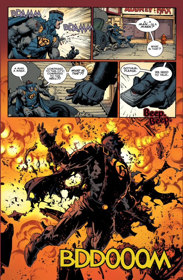 batman vs gotham