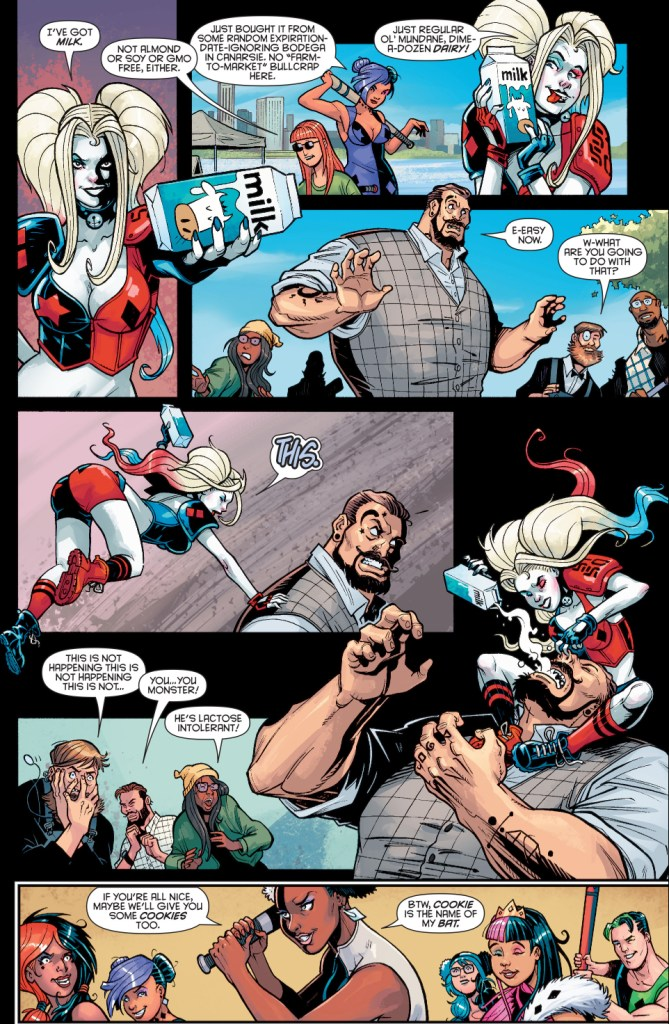 Harley Quinn VS The Hipster Mafia