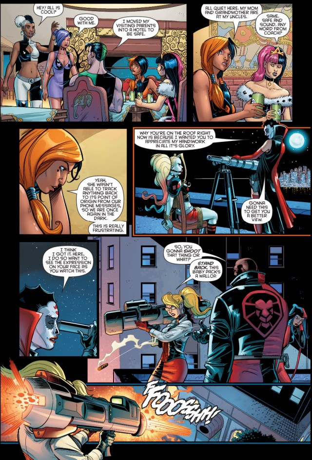 Harley Sinn Taunts Harley Quinn