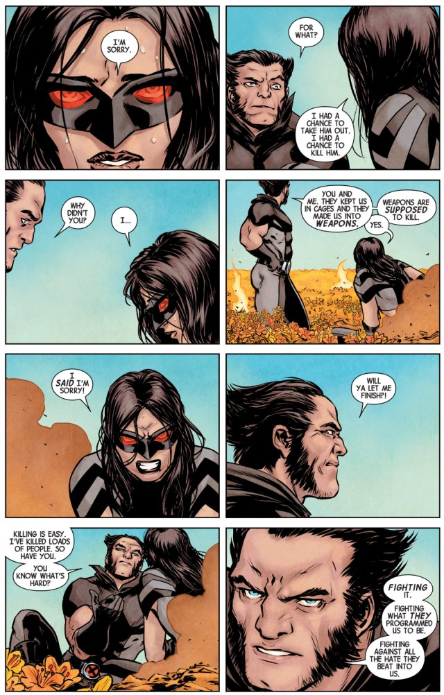 wolverine's most important lesson to x-23