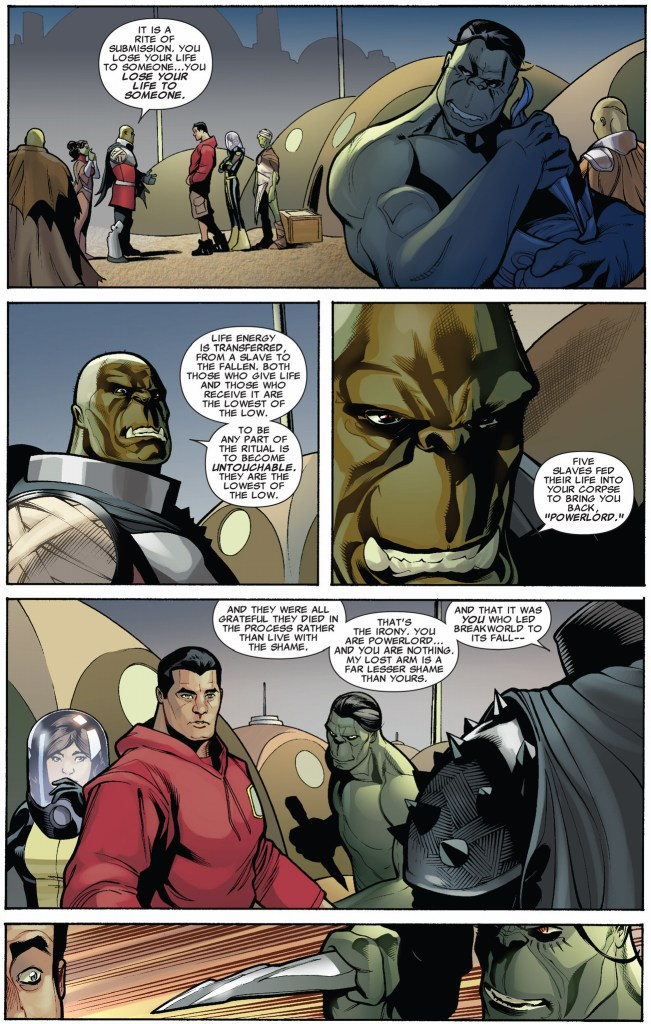 How The Breakworlders Brought Colossus Back To Life