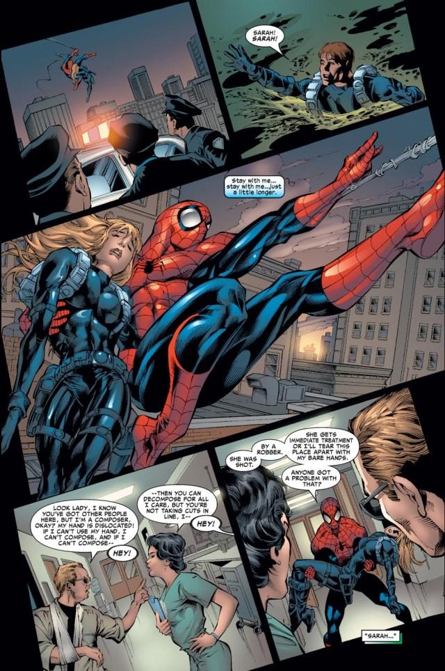 Spider-Man Saves Sarah Stacy