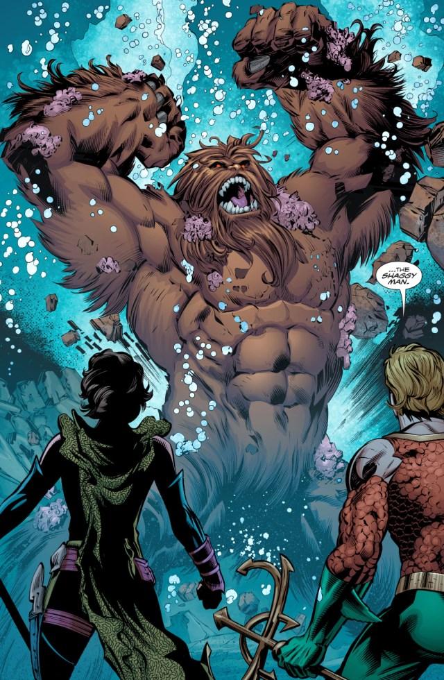 The Shaggy Man Attacks Atlantis