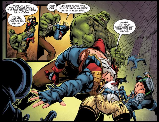 Harley Quinn VS Killer Croc (Injustice Gods Among Us)