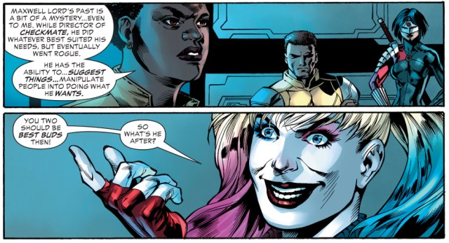 From – Justice League VS Suicide Squad #3