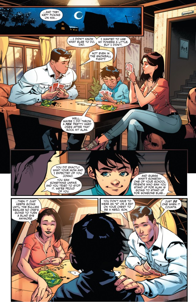 Superboy Learns How To Deal With Bullies