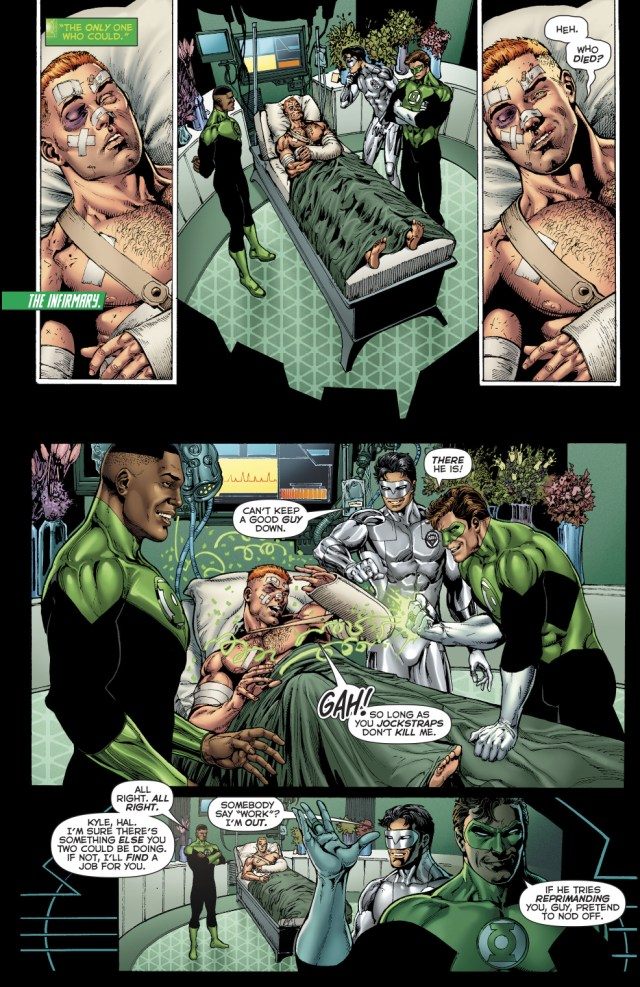 Guy Gardner Respects Arkillo