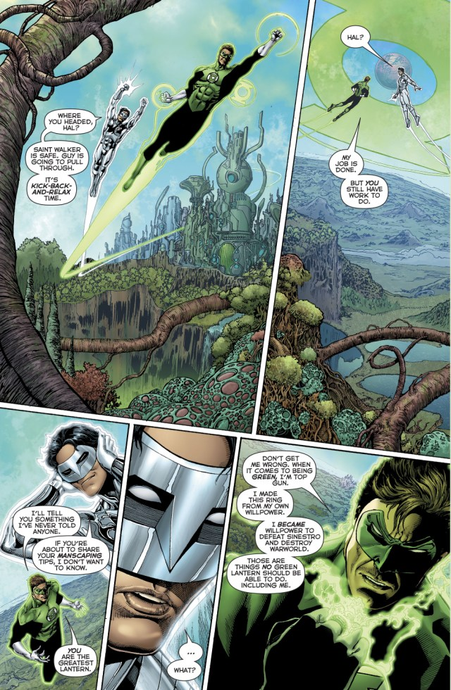 Why Kyle Rayner Is The Greatest Lantern