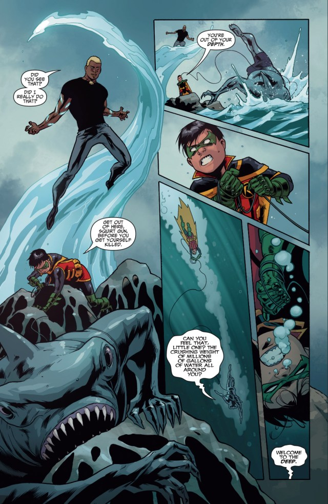 How Aqualad Joined The Teen Titans (Rebirth)
