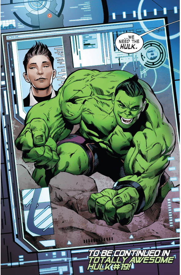 Totally Awesome Hulk (Weapon X Vol. 3 #3)