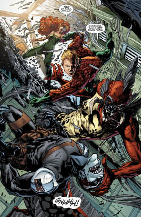 Aquaman, Mera And Dead Water (Rebirth)