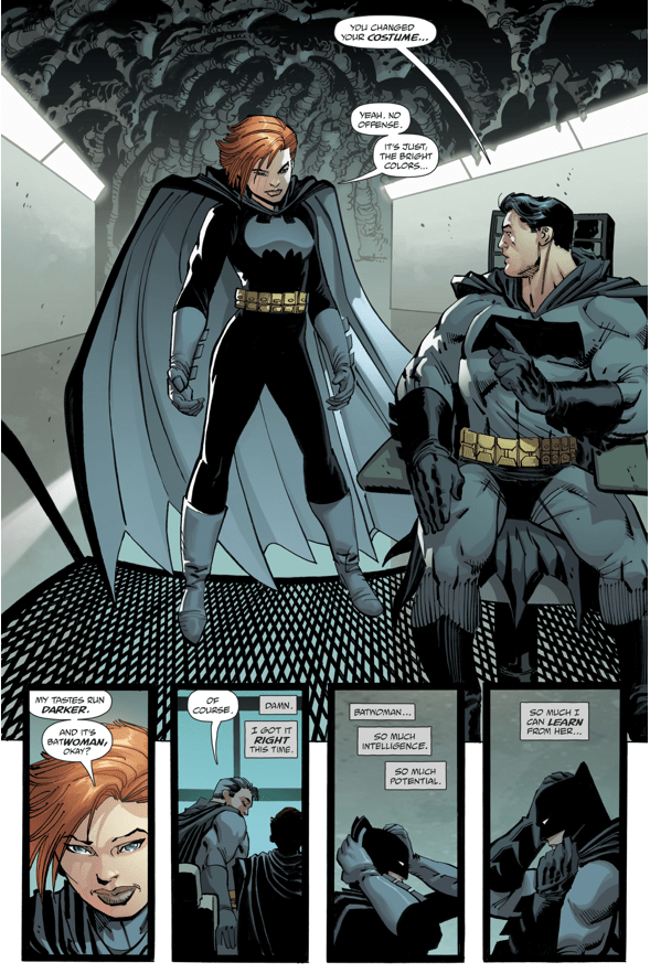 Carrie Kelley Becomes Batwoman (The Master Race)