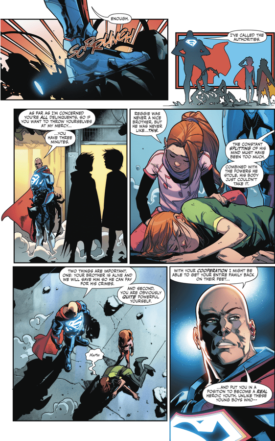 How Superboy And Robin Took Down Kid Amazo