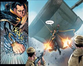 Shazam Defending Kahndaq (Injustice II)