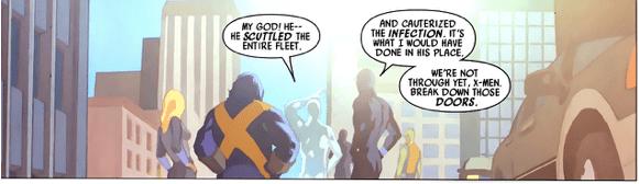 H'Kurrek Destroys The Skrull Invasion Fleet