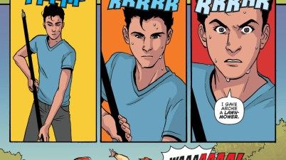 How Clumsy Archie Andrews Is