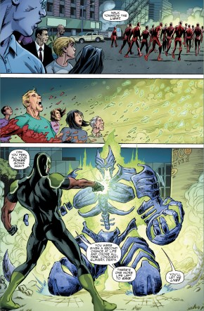 How Simon Baz And Cyborg Defeated Shirak