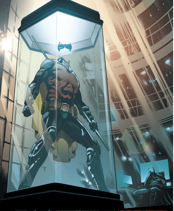 Tim Drake's Costume Memorial (Rebirth)