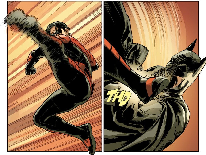 Batman VS Nightwing (Injustice II)