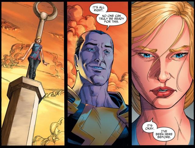 Black Adam Trains Supergirl To Fly (Injustice II)