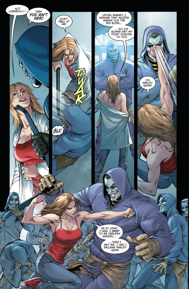 Harley Quinn Becomes The Leader Of The Joker Clan