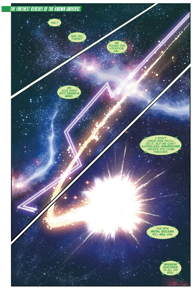 Highfather And Lightray (Hal Jordan And The Green Lantern Corps #28)