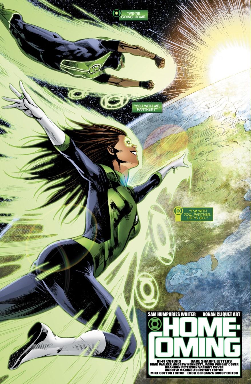 Jessica Cruz And Simon Baz (Green Lanterns Vol 1 #31)