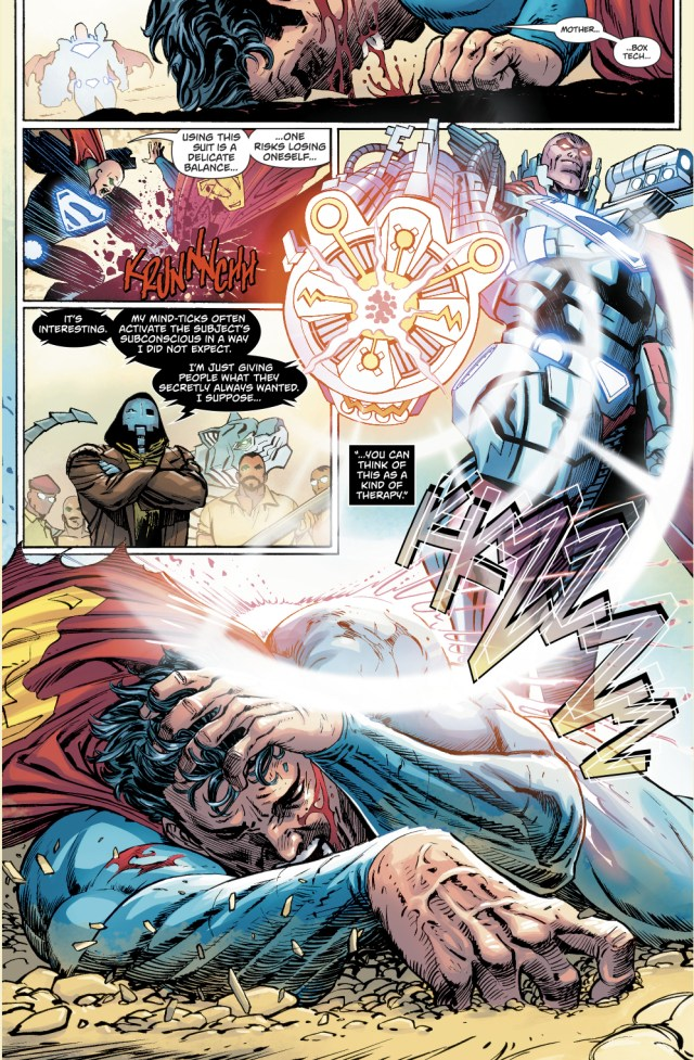 Lex Luthor VS Superman (Action Comics #986)