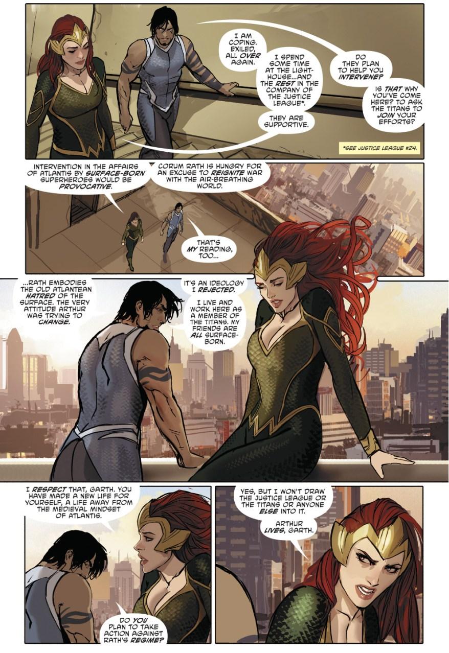 Mera Recruits Tempest
