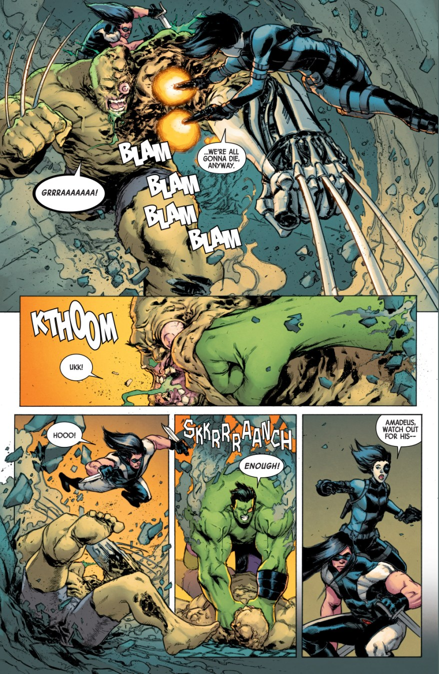 Totally Awesome Hulk VS Hulkverine