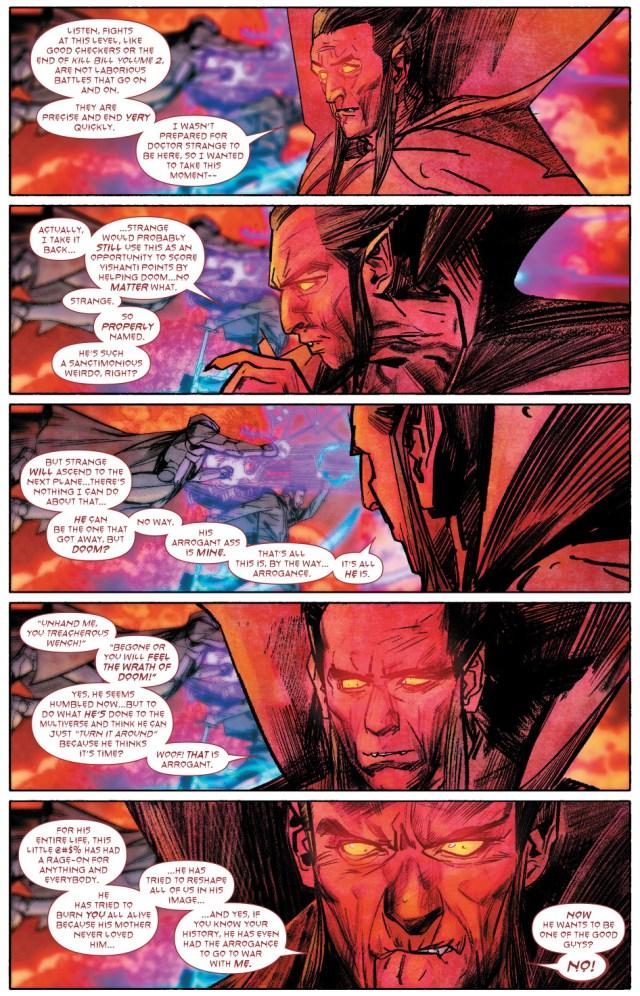 Why Mephisto Hates Victor Von Doom