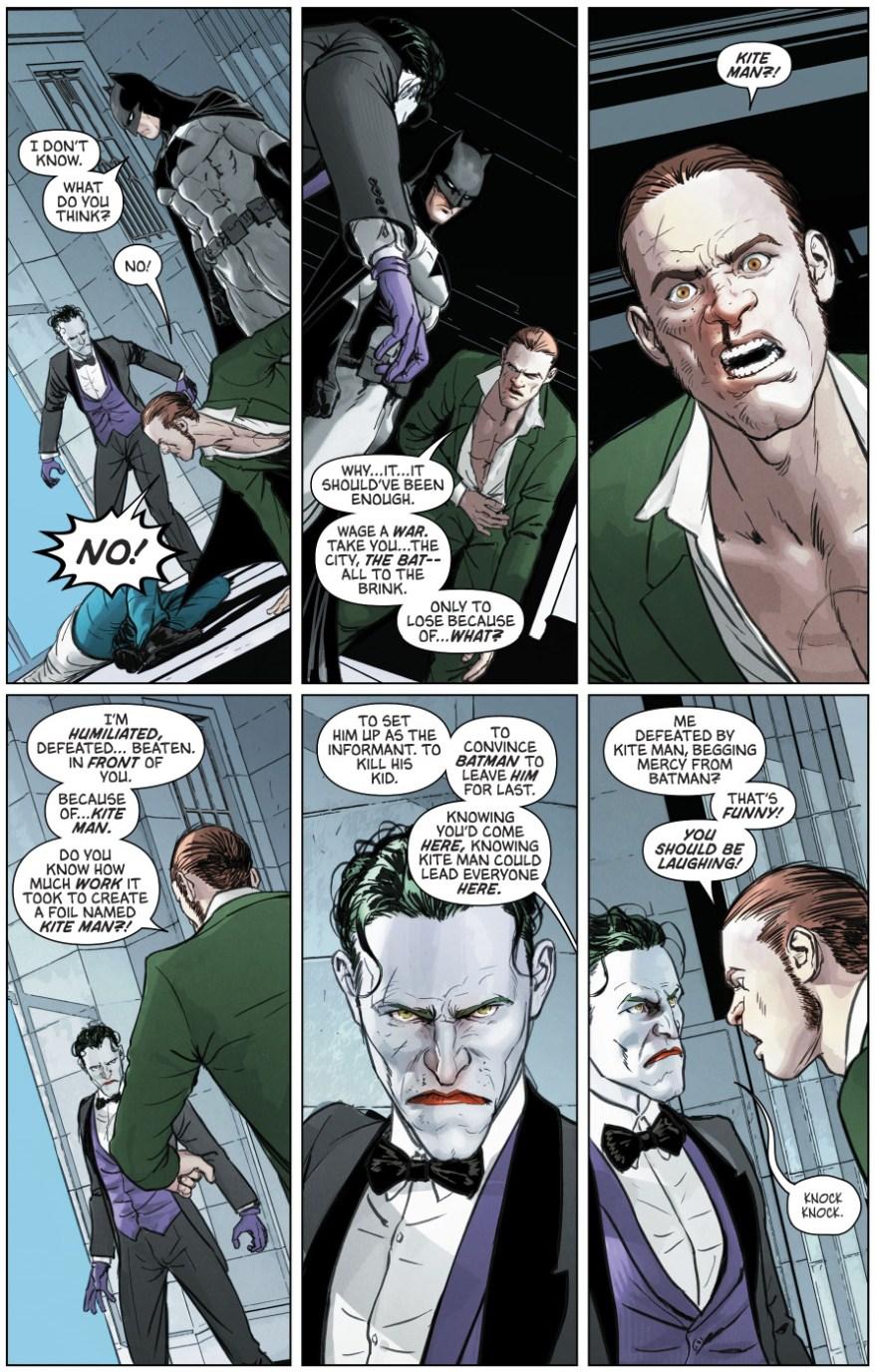 Batman Breaks His No Killing Rule