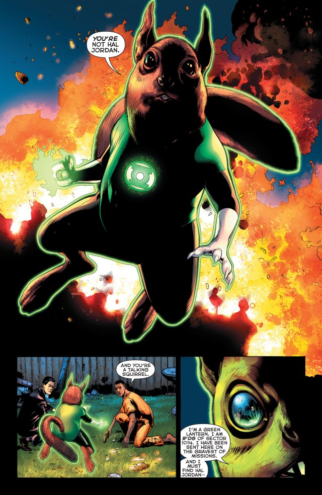 B'dg (Green Lantern Vol 5 #15)