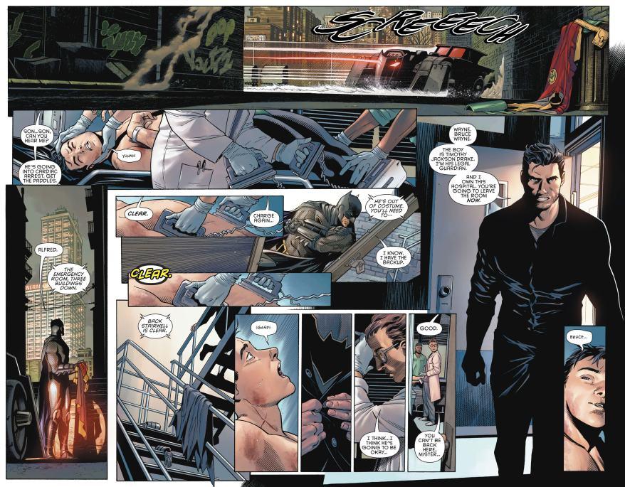 Bruce Wayne And Tim Drake's Reunion (Rebirth)