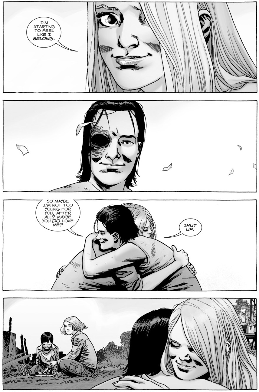 Lydia Falls In Love With Carl Grimes (The Walking Dead)