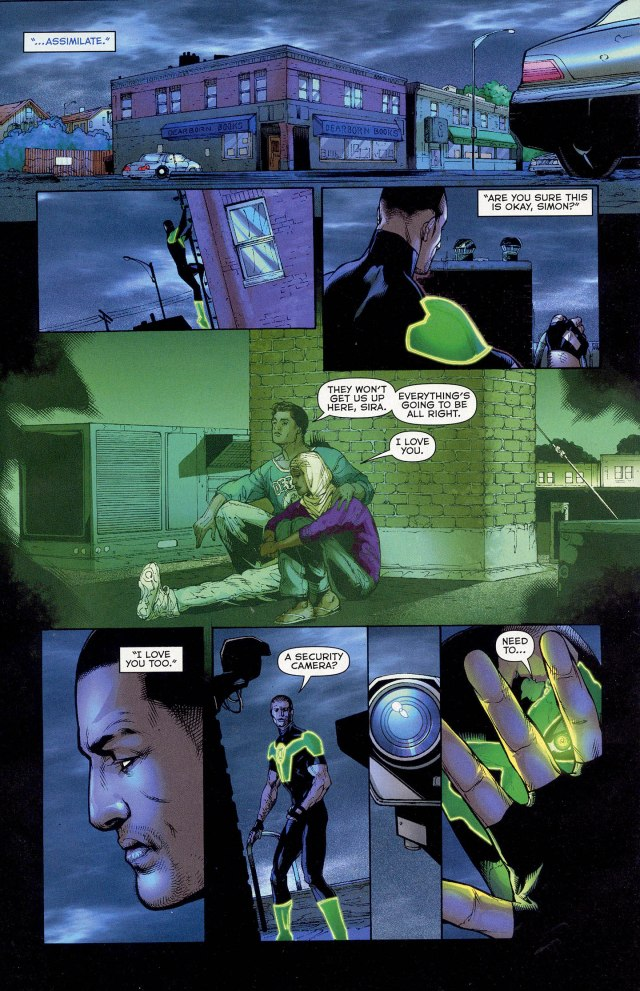 Simon Baz (Green Lantern Vol 5 #13)
