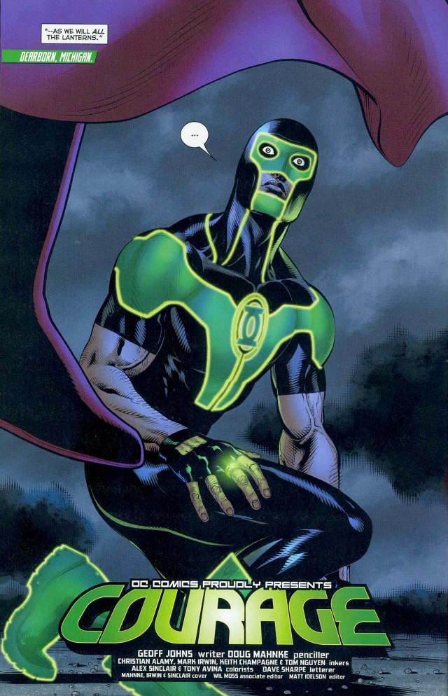Simon Baz (Green Lantern Vol 5 #14)