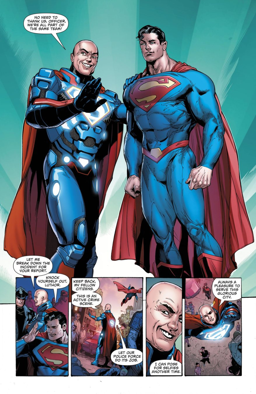 Superman And Lex Luthor (Superman Vol. 4#33)