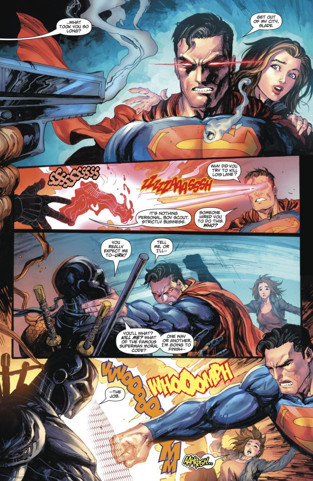 Superman VS Deathstroke (Rebirth)