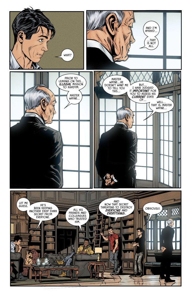 The Robins React To Batman's Engagement