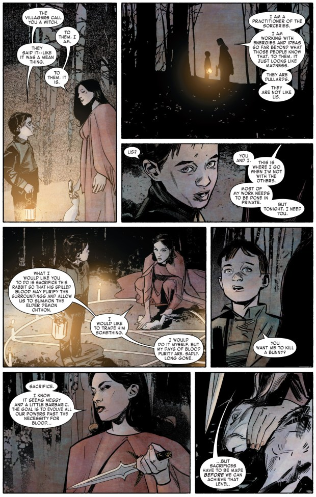 Victor Von Doom Learns His Mother Is A Witch