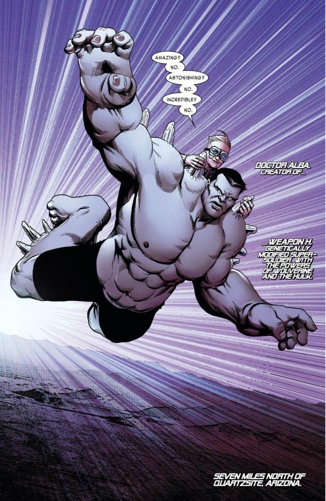 Weapon H (Weapon X Vol 3 #10)